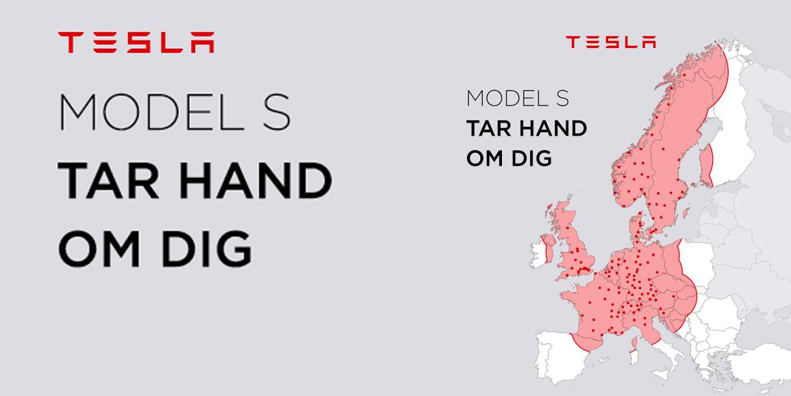 TESLA: Model S tar hand om dig
